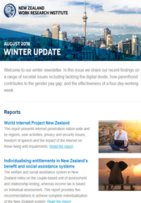 Cover of Newsletter August 2018