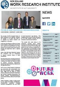 Cover of Newsletter April 2015