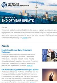 Cover of Newsletter December 2018