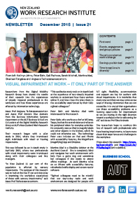 Cover of Newsletter December 2015
